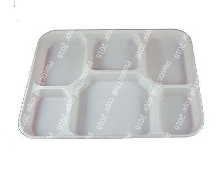 6 Compartment Plates