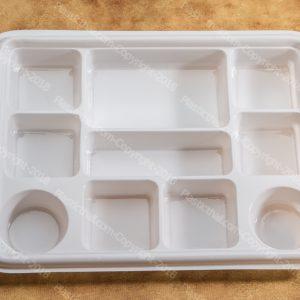 6 compartment disposable plastic plates 7